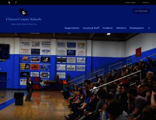 clinton.kyschools.us screenshot