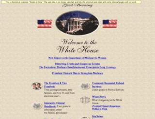clinton2.nara.gov screenshot