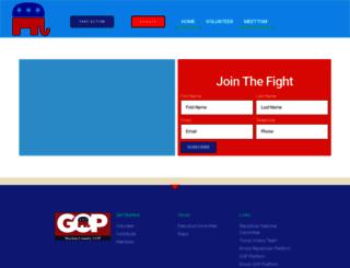 clintoncountygop.com screenshot