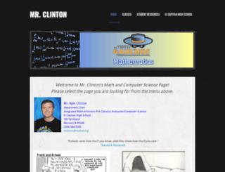 clintonsmath.weebly.com screenshot