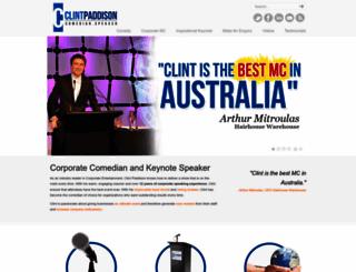 clintpaddison.com screenshot