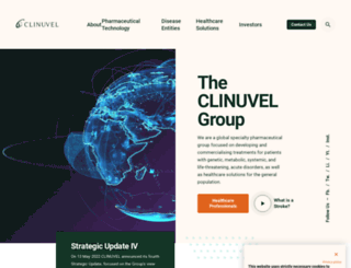 clinuvel.com screenshot