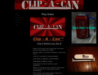 clip-a-can.yolasite.com screenshot
