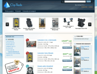 clip-trade.ro screenshot