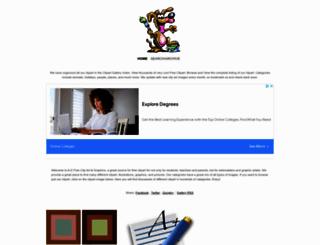 clipart-graphics.net screenshot
