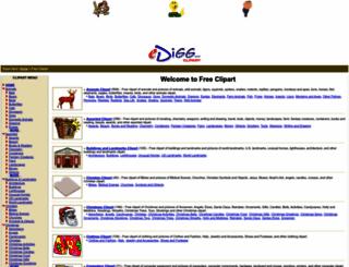 clipart.edigg.com screenshot