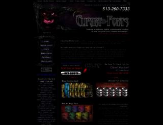clipartandfonts.com screenshot