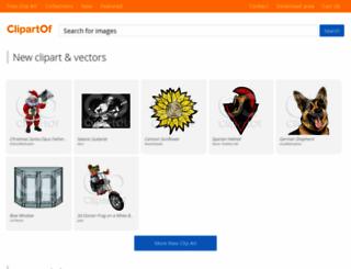 clipartof.com screenshot