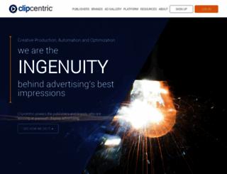clipcentric.com screenshot