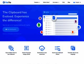 clipclip.com screenshot