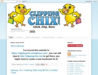 clippingchix.com screenshot