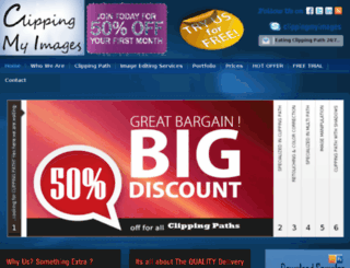 clippingmyimages.com screenshot