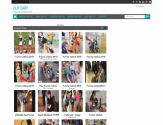 clipsaby.blogspot.com screenshot