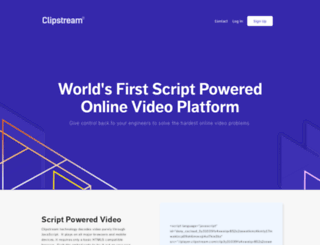 clipstream.com screenshot
