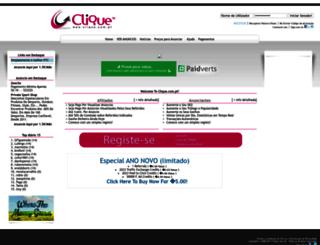 clique.com.pt screenshot