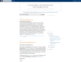 cliquersinfo.blogspot.com screenshot