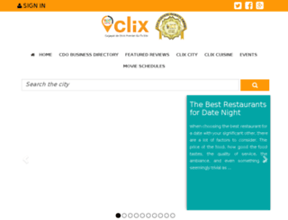 clix.com.ph screenshot
