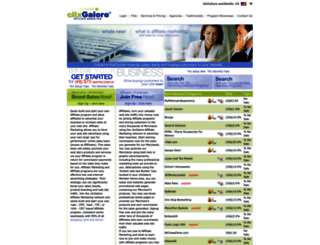 clixgalore.com screenshot