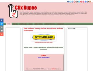 clixrupee.blogspot.com screenshot