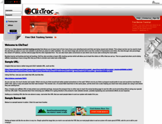clixtrac.com screenshot