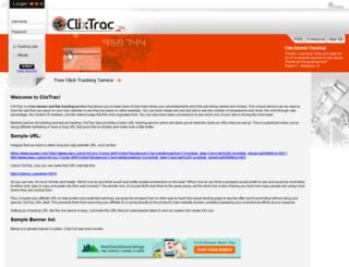 clixtrac.org screenshot