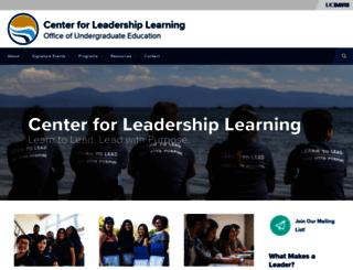 cll.ucdavis.edu screenshot