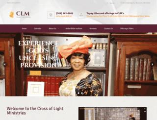 clministry.org screenshot