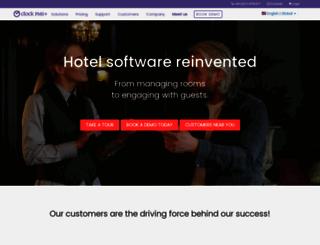 clock-hotel-software.com screenshot