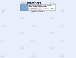clockwatchers.com screenshot