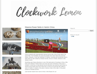 clockworklemon.com screenshot