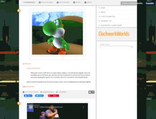 clockworkworlds.com screenshot