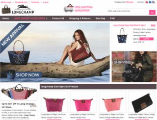 clongchampsale.com screenshot