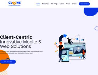 clooneit.com screenshot