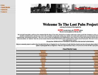 closedpubs.co.uk screenshot