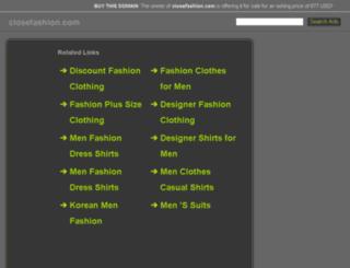 closefashion.com screenshot