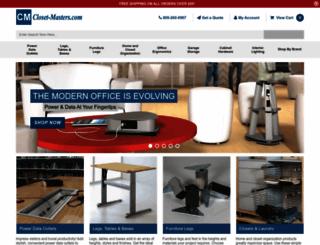 closet-masters.com screenshot