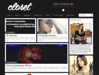 closetblog.com.br screenshot