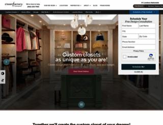 closetfactory.com screenshot