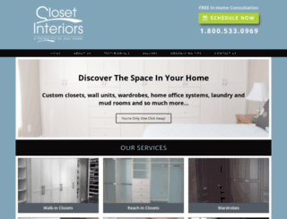 closetinteriors.ca screenshot