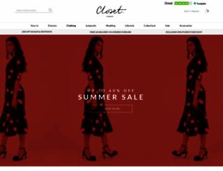 closetlondon.com screenshot