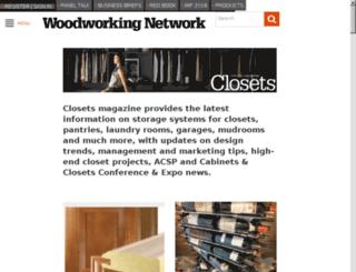 closetsmagazine.com screenshot