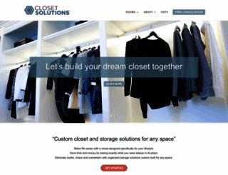 closetsolutionsca.com screenshot