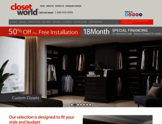 closetworld.com screenshot