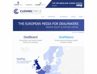 closingcircle.com screenshot