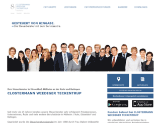 clostermann-stb.de screenshot
