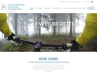 clostermann-steuerberatung.de screenshot