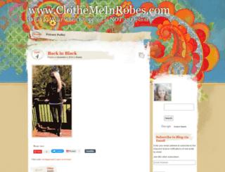 clothemeinrobes.com screenshot