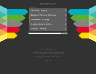 clothescheap.com screenshot