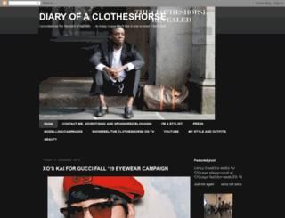 clotheshorse-diaryofaclotheshorse.blogspot.com screenshot
