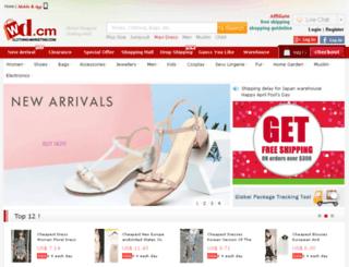 clothing-marketing.com screenshot